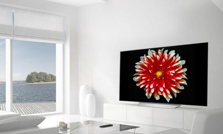 Thiết kế siêu hiện đại và ấn tượng trên tivi OLED 4K LG 65 inch 65C7T