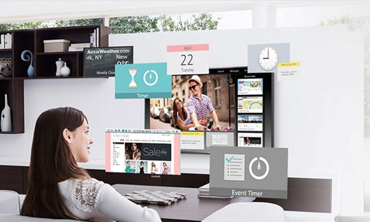 Màn hình my home screen tiện lợi trên tivi Led Panasonic 43 inch TH-43ES500V