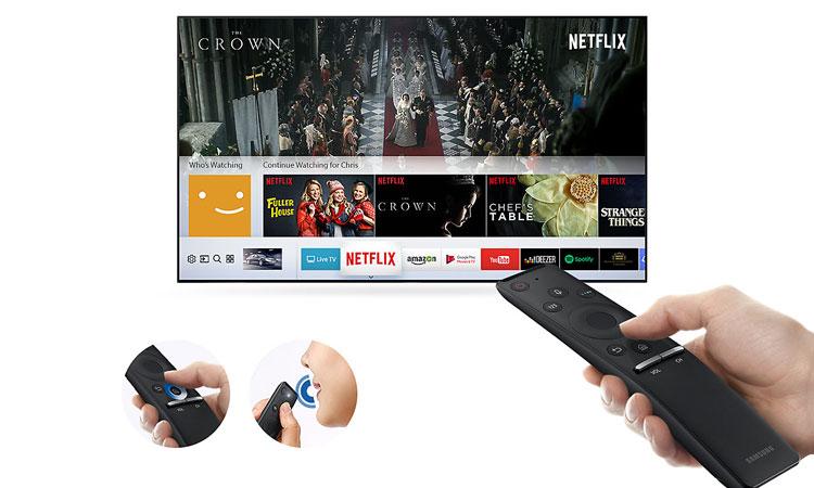 Smart tivi LED Samsung 43 inch UA43MU6100KXXV cho khả năng điều khiển dễ dàng